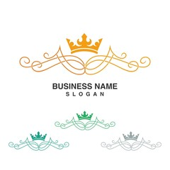 Royal Elegance logo template