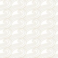 Ornamental pattern wave