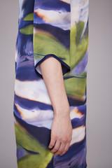 Fotobehang Gymnastiek Beauty fashion clothes casual collection woman model brunette