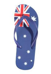 Australian flag thong