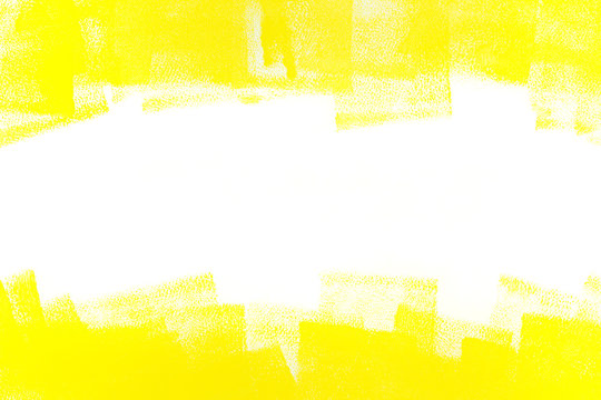 abstract yellow painted background