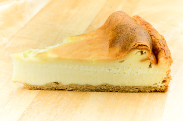 New York Cheese Cake/ Close up image