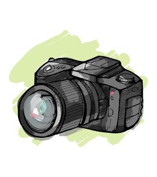 Reflex camera b