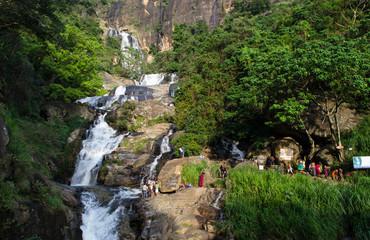 Ravana Falls, Ella, Sri Lanka, Asia