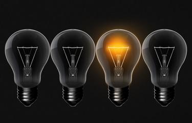diferrent light bulb