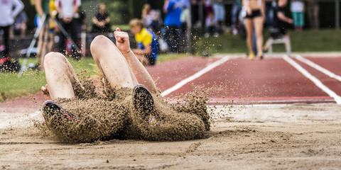 Weitsprung in der Leichtathletik