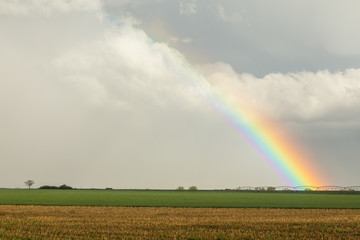 Wall Mural - Just Another County Rainbow