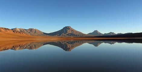 Laguna Lejia, désert de Atacama, Chili