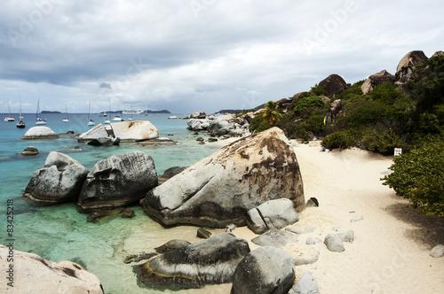 The Baths, Virgin Gorda Island, British Virgin Islands, West Indies  № 1471513 загрузить