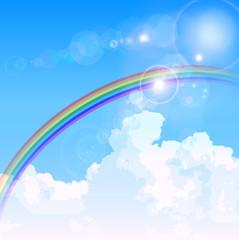 空 虹 背景