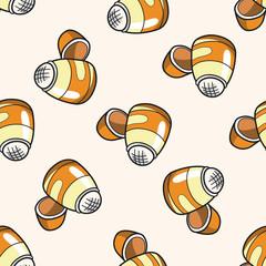 stationary glue , cartoon seamless pattern background