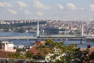 Метромост. Стамбул. Турция.