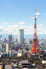 Wall Murals Tokyo Tokyo Tower cityscape