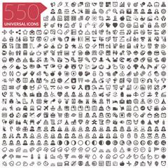 Icon set 550