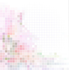 Vector abstract background, pastel colors