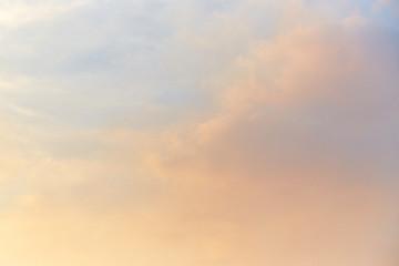 Beautiful Sky. Sunset