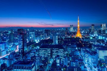 Poster Tokyo Tokyo Tower, Tokyo, Japan