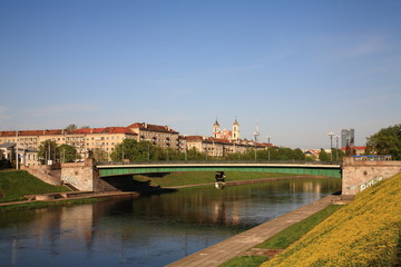 Vilnius Neris embankment