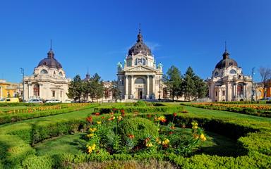 Szechenyi Medicinal Bath in Budapest, Hungary