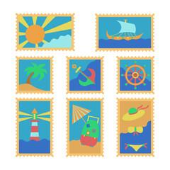summer stamps