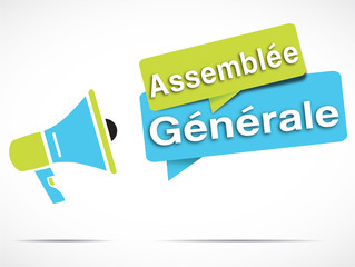 mégaphone : assemblée générale