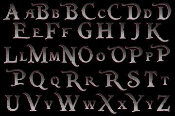 pirate mutiny alphabet collection