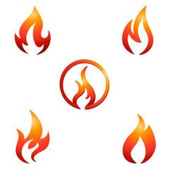 Feuer und Flamme - Symbole / Zeichen