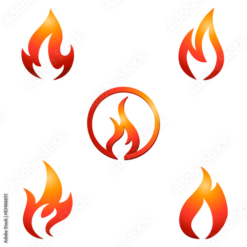 feuer und flamme symbole zeichen stockfotos und lizenzfreie vektoren auf. Black Bedroom Furniture Sets. Home Design Ideas