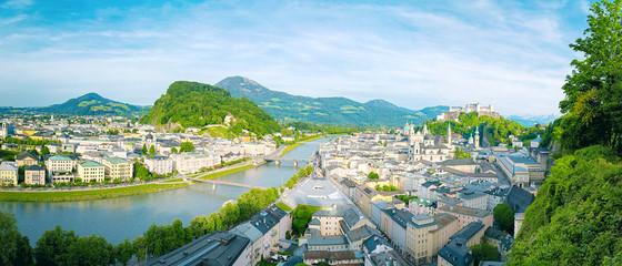 Wall Mural - Salzburg Stadt - Panorama View