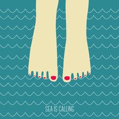 Sea is calling