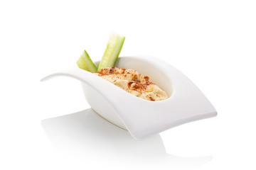 Photo sur Plexiglas Entree Hummus.