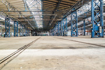 DDR Fabrik Lagerhalle