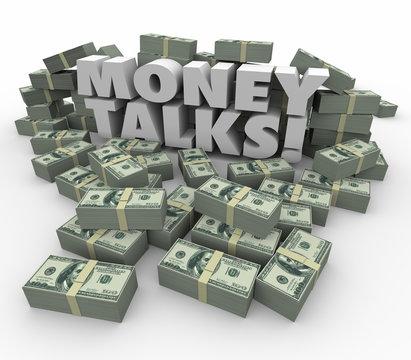 Money Talks Power Influence Financial Wealth Assets