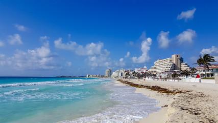 Cancun Hotel Zone (also known as La Isla Dorado), Mexico