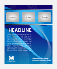 Trifold flyer  Business Brochure