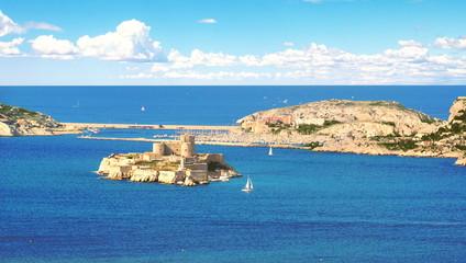 Le Château d'If dans les îles du Frioul
