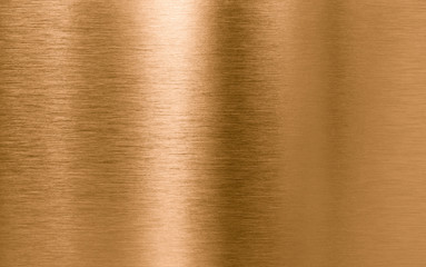 Photo sur Aluminium Les Textures Bronze or copper metal texture background