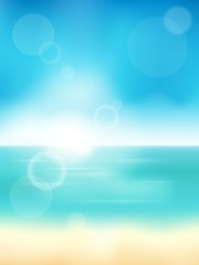 Summer theme abstract background 3