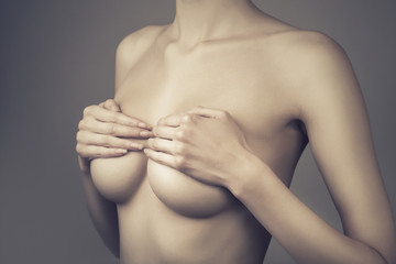 adult woman with breasts