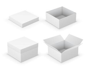 Open boxes
