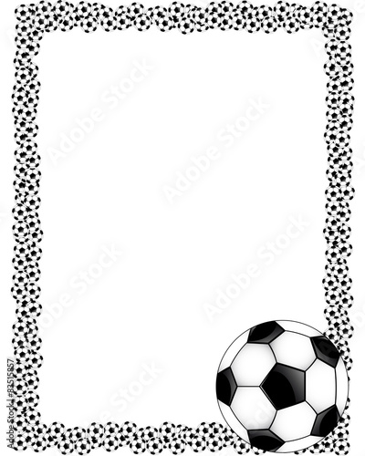 Vertical frame soccer\