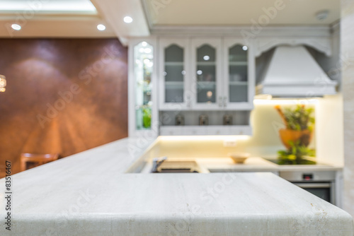 Work Surfaces Modern Kitchen Interior Stock Photo And Royalty Free