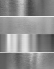 high quality silver steel metal texture backgrounds
