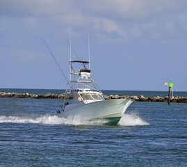 Charter Game Fishing Boat