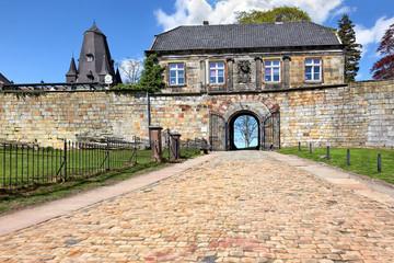 Eingangsportal der Burg Bentheim