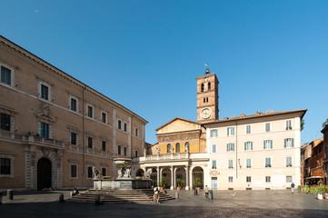 Roma Piazza di Santa Maria in Trastevere