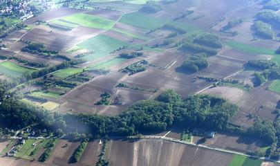 vue aérienne...alsace