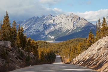 Canada, Alberta, Straight road