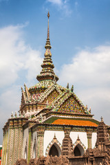 Wat Phra Kaeo, Temple of the Emerald Buddha Bangkok, Asia Thaila