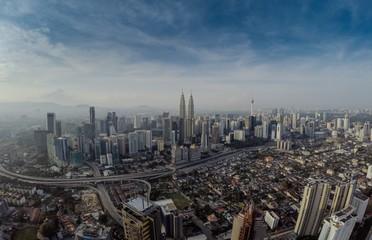 Aerial view of Kuala Lumpur, Malaysia
